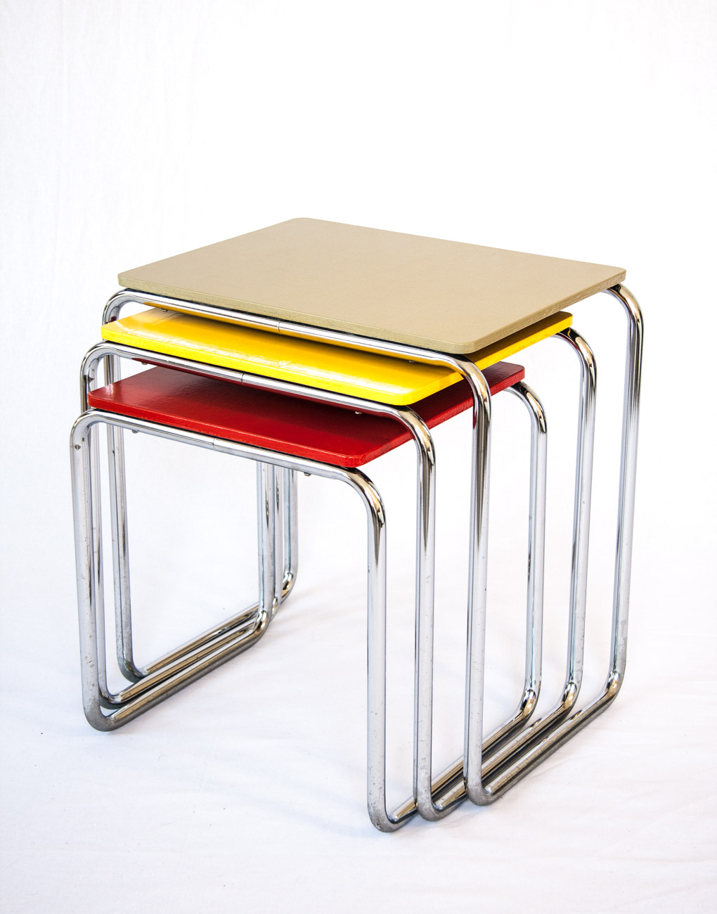 Set Nesting Tables B9 By Marcel Breuer